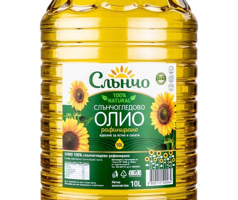 Слънчогледово олио Слънчо 10л