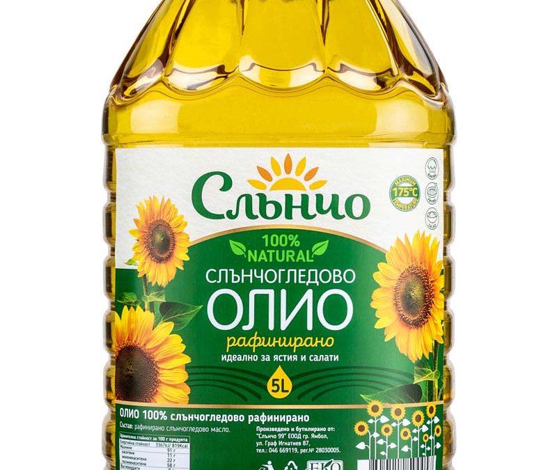 Слънчогледово олио Слънчо 5л